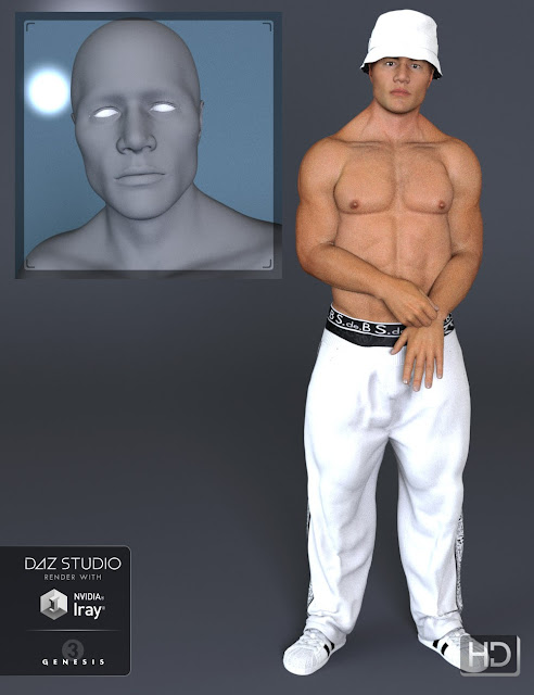 M3D Jesse HD for Genesis 3 Male