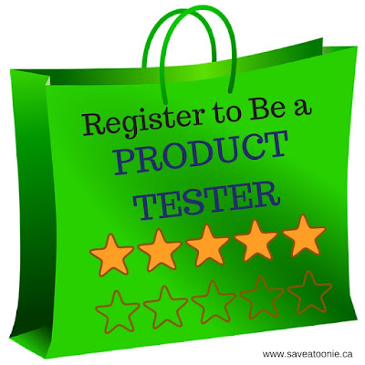 Register to Be a Product Tester