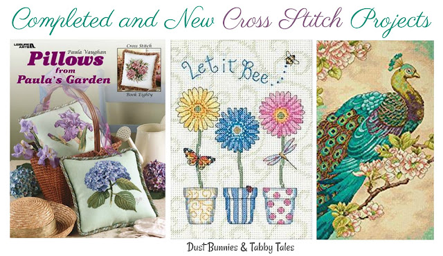 Counted Cross Stitch - Finished and New Projects