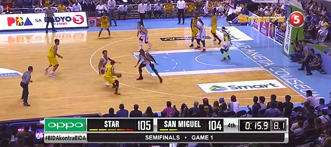 Star Hotshots def. San Miguel, 109-105 (REPLAY VIDEO) Semis Game 1 / June 10