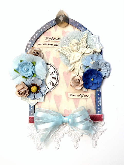 George Michael Tribute Mixed Media Arch by Dana Tatar for Tando Creative