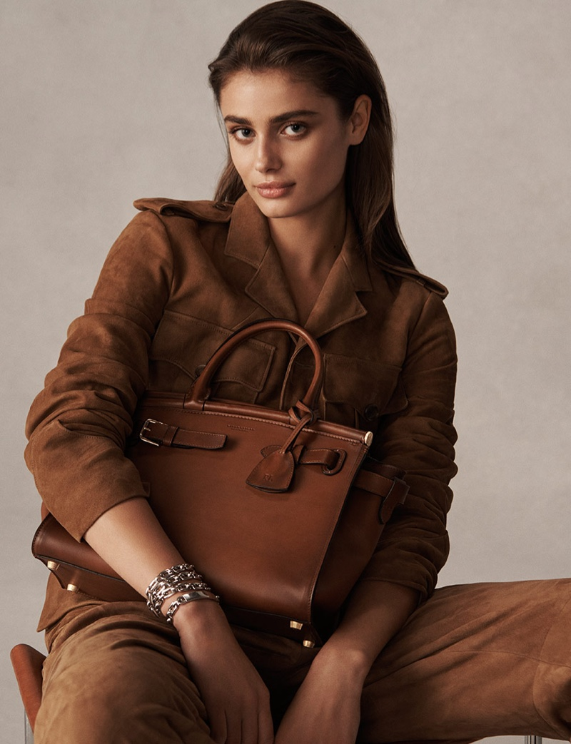 Ralph Lauren The RL50 Handbag Campaign