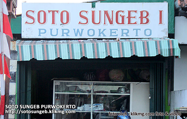 SOTO SUNGEB Purwokerto