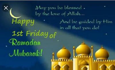 Happy 1st Friday of Ramzan Mubarak,Jumma Mubarak Poetry - Jumma Mubarak wishes - Ramzan Jumma Mubarak Wishes Pics - Happy Friday of Ramzan - Islamic Wishes - Urdu Poetry World