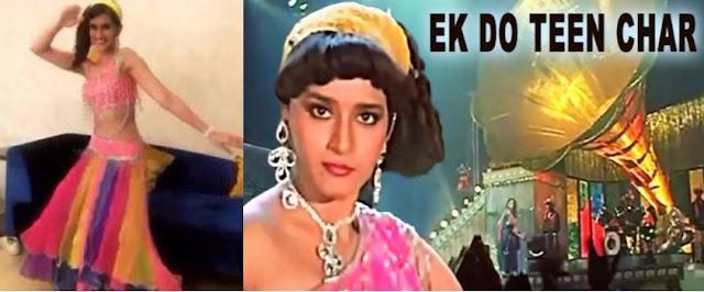 Kriti-Sanon-Madhuri-Dixit-Tezaab-Mohini-filmy-buster-cinemawallah