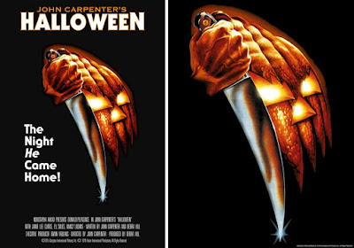 Halloween 40th Anniversary Movie Poster Screen Print by Bob Gleason x Bottleneck Gallery