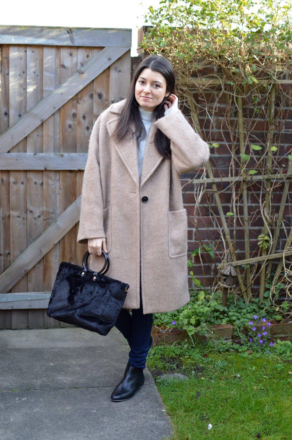 Rosegal Fur Bag