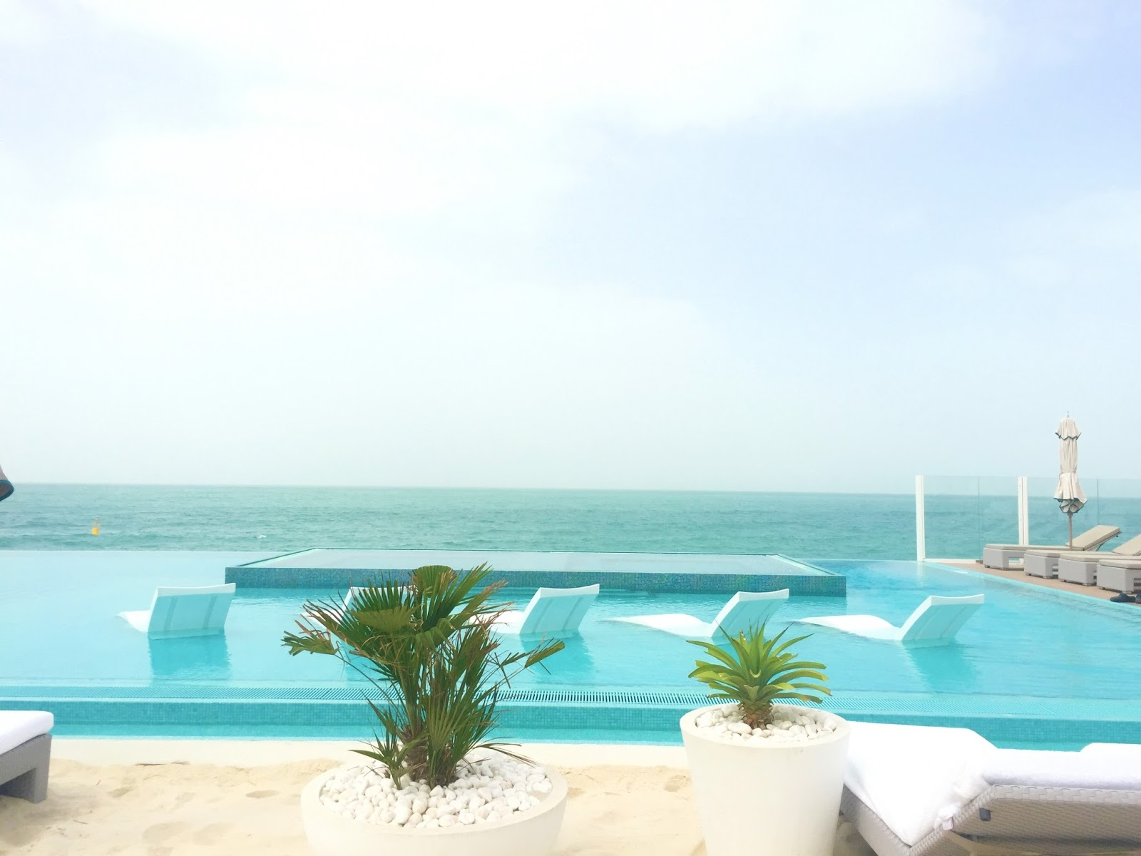 Burj Al Arab Infinity Pool - New Pool Deck - Best Luxury Hotels in Dubai