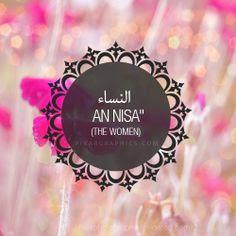 benefits of surah nisa in urdu