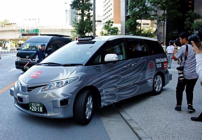 Tinuku Autonomous taxi began test drives in Tokyo 2020 Olympics