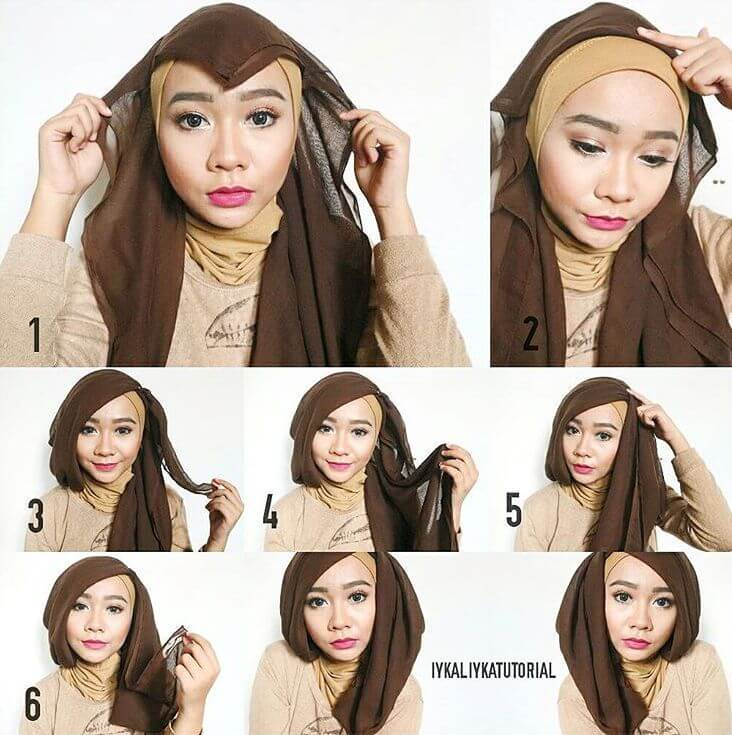 30 Tutorial Hijab Kebaya Wisuda Paling Kekinian Terbaru 2017 Tampil Cantik Dengan Hijab