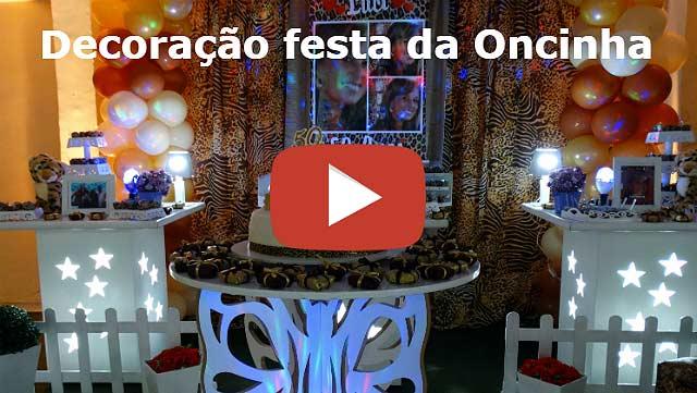 Decoração de festa da Oncinha provençal