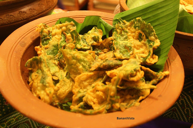 Fried Palak Patta