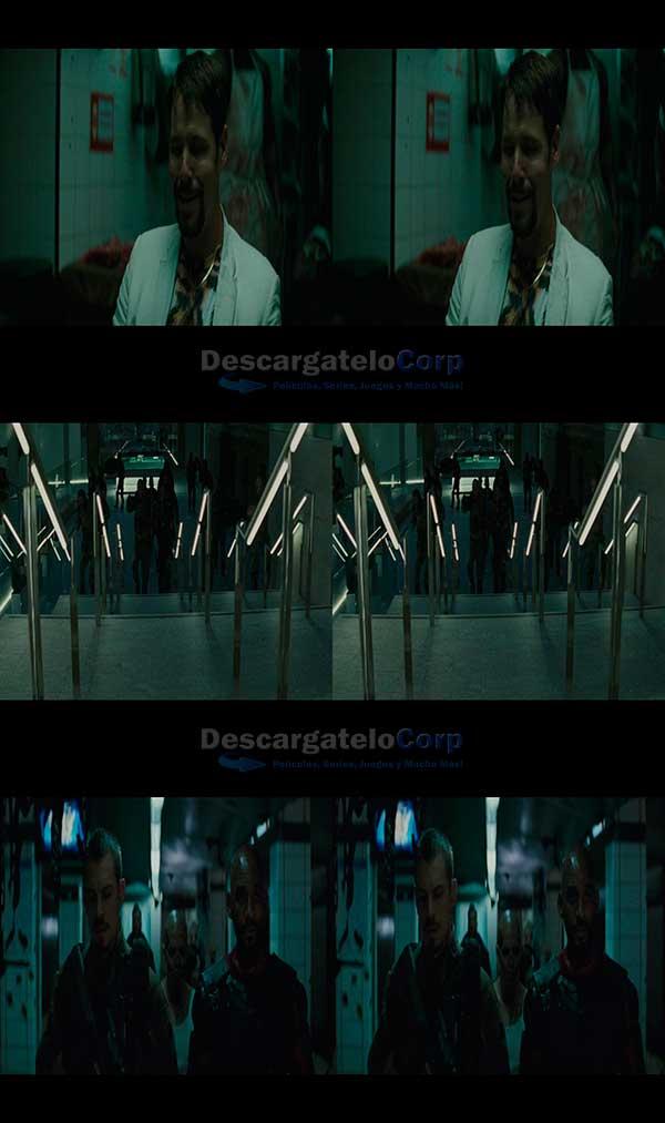 Escuadron Suicida (2016) 3D SBS Español Latino