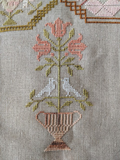 cross stitch - Kindness & Fortitude:  A Quaker Sampler from Modern Folk Embroidery by Lucy Brennan