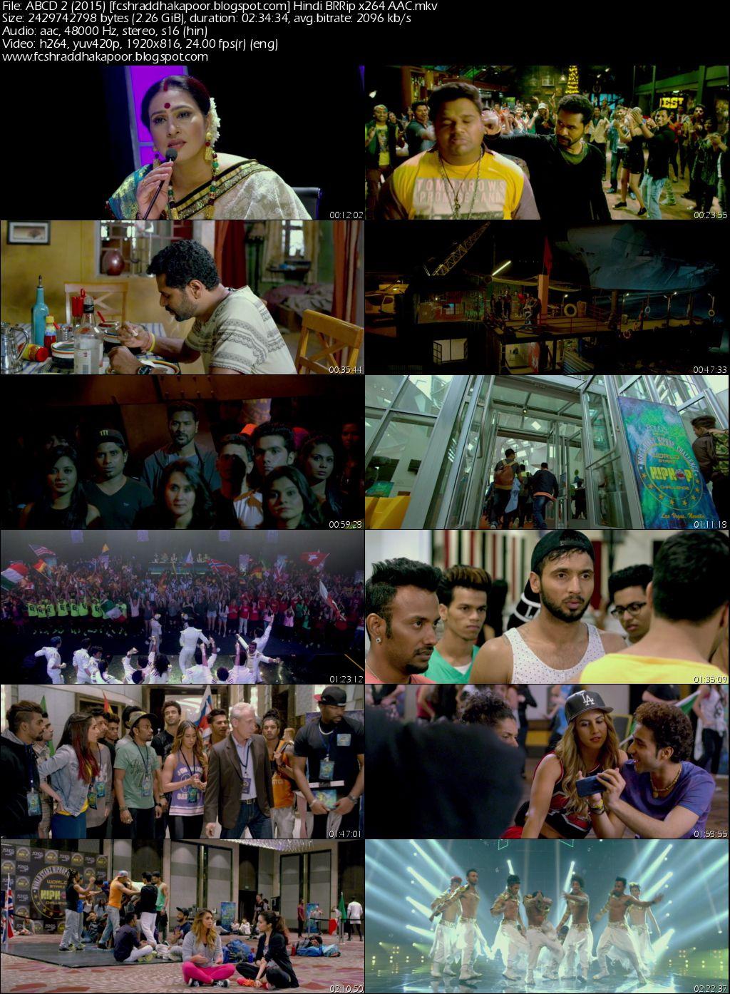 ABCD 2 2015 BRRip Full Hindi Movie Download 1080p