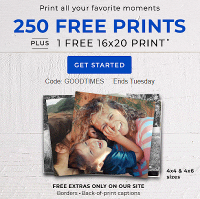Confessions Of A Frugal Mind Shutterfly Photo 250 Free Prints