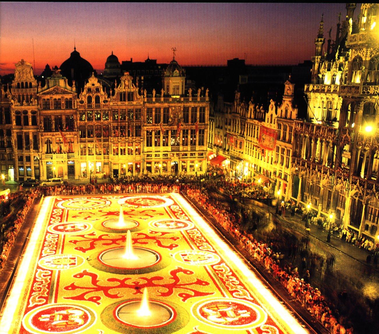 I Got Your Rug!: The Brussels Flower Carpet