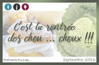 Petits choux au chocolat - Compile-moi un menu édition de septembre 2016