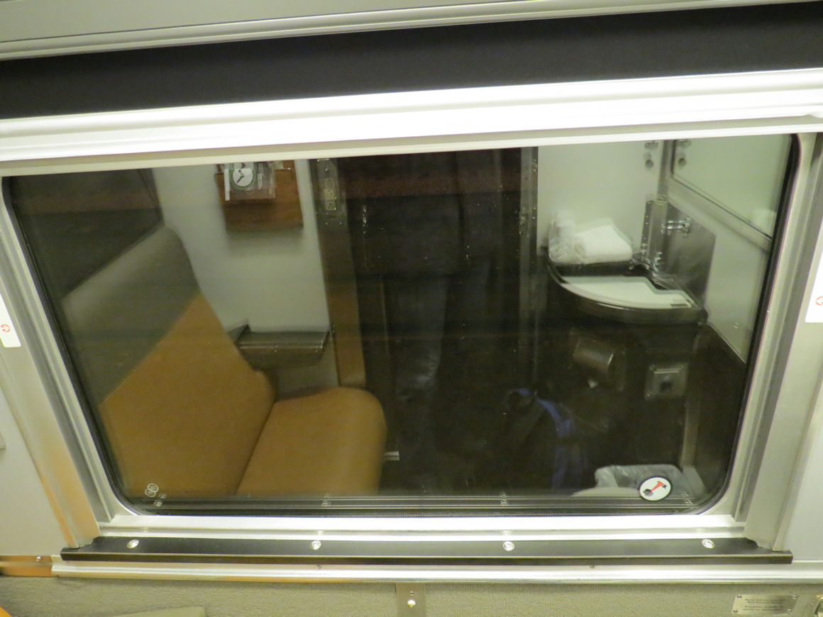 Destination Mike Via Rail Sleeper Plus Class Cabin For One