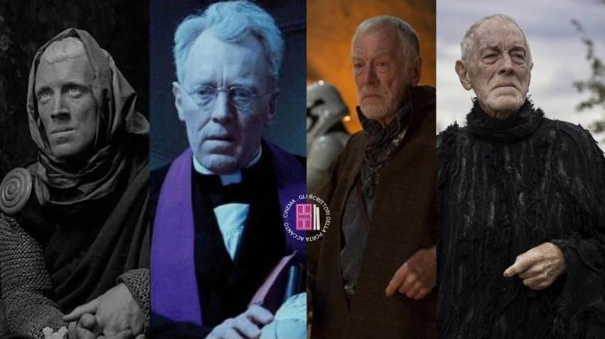 """Max Von Sydow in """"Il settimo sigillo"""", """"L'esorcista"""", """"Star Wars"""" e """"Il trono di spade"""""""
