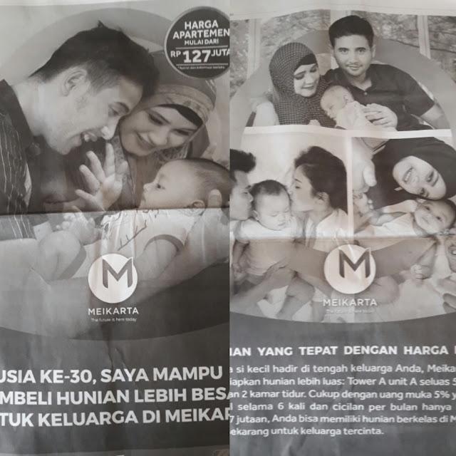 Pasang Wanita Berjilbab dalam Iklannya, Meikarta ingin Cari Simpati Kaum Muslim?