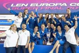 Europa Cup | «Χρυσά» τα κορίτσια της εθνικής ομάδας πόλο: 9-8 την Ρωσία