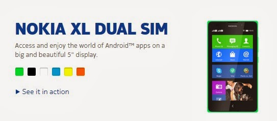 Nokia Dual SIM Card Android