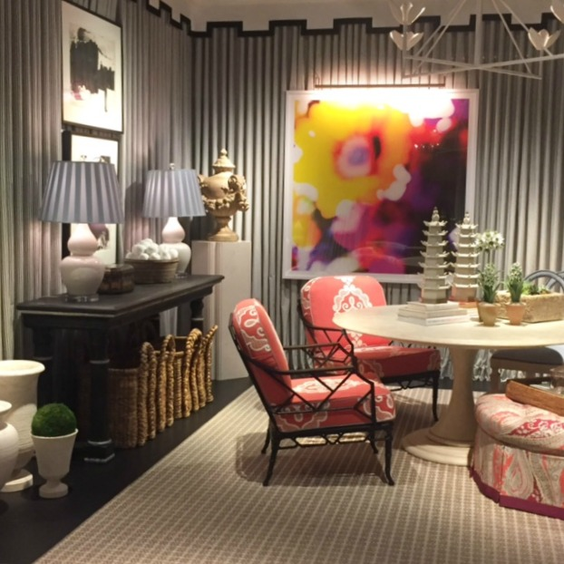 DreamHome Chicago 2016 sunroom colorful art
