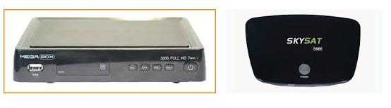 MEGABOX 3000 EM SKYSAT S966