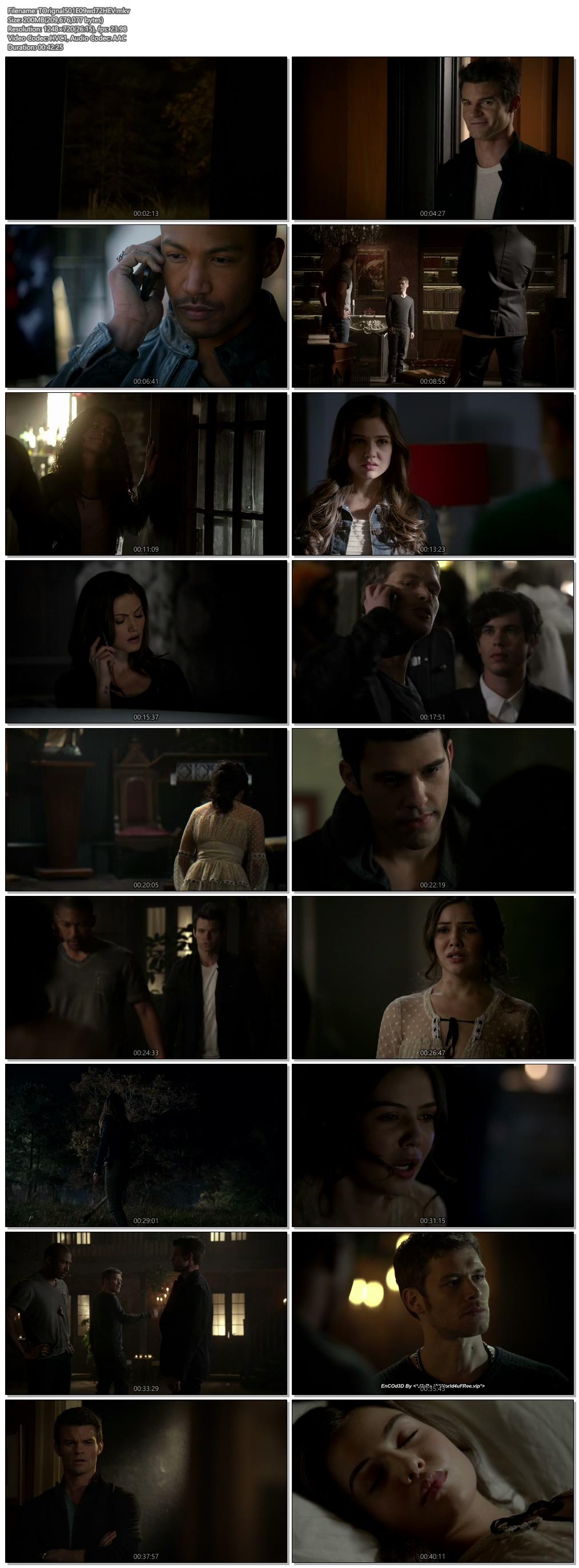 Screenshots Of Hindi Dubbed Show The Originals 2013 Season 01 Episode 09 300MB 720P HD