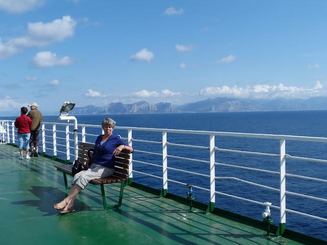 boottocht van Livorno naar Palermo