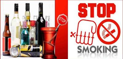 jangan minum alkoho dan merokok agar cepat punya anak