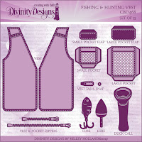 Divinity Designs LLC Custom Fishing and Hunting Vest Dies