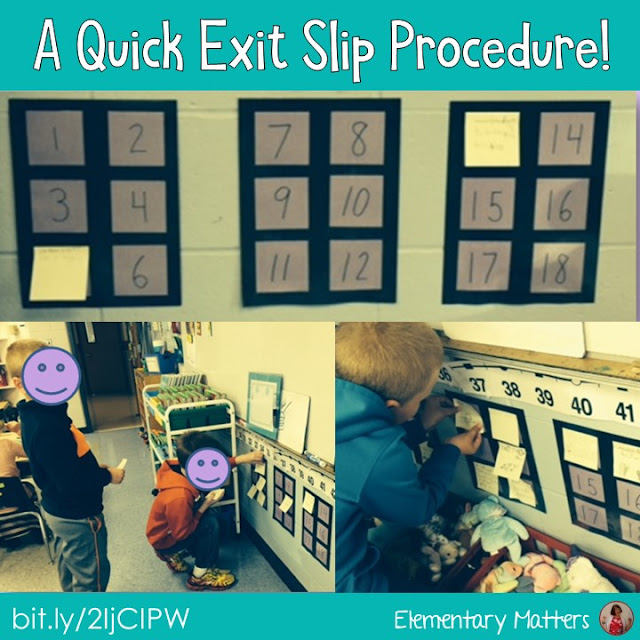 Looking for a quick way to assess what the children are reading? This post suggests a very simple exit slip procedure using post its!