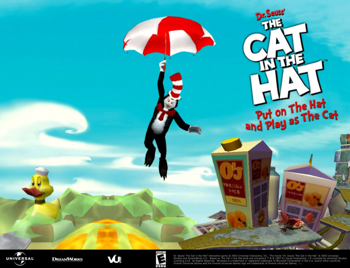 Cat In The Hat Wallpapers View Wallpapers