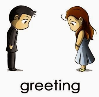 Providing Greeting and Parting in English