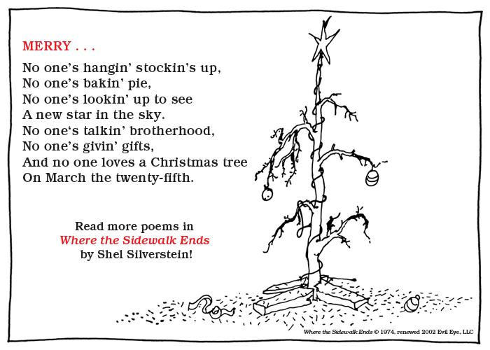 Shel Silverstein Poems: Pics And Random Stuff: March 2013