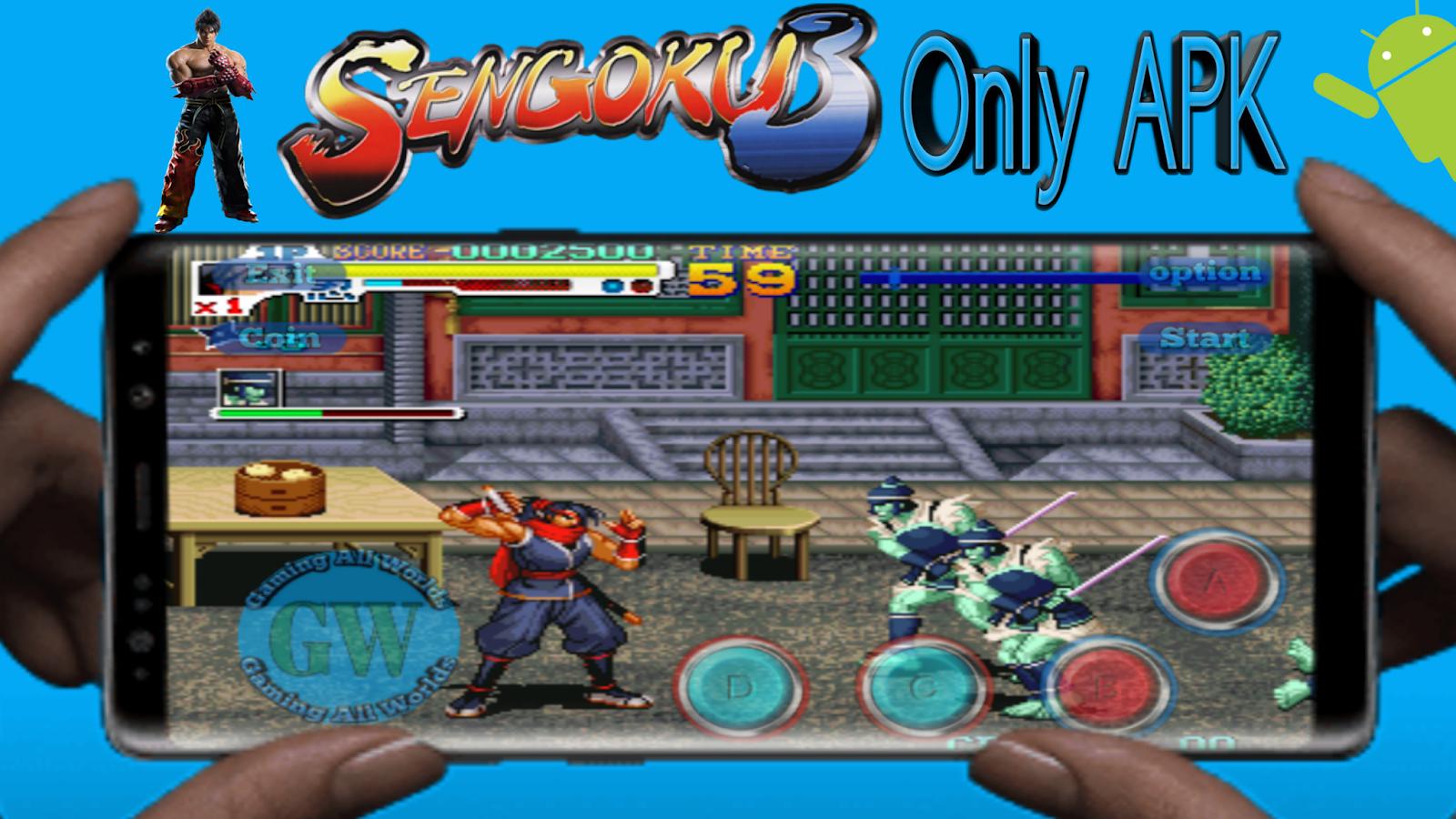 Sengoku 3 Game Only APK - GamingAllWorlds