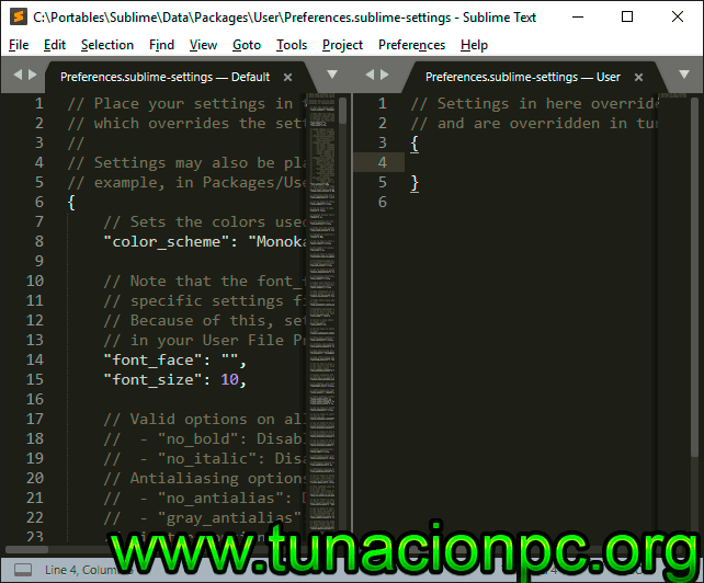 Sublime Text Portable con Licencia