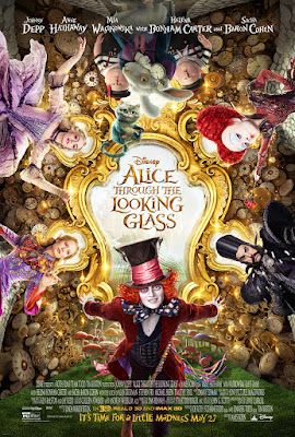 Alice Through the Looking Glass Poster