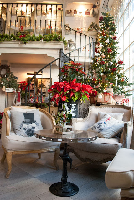 salon des fleurs madrid cafeteria floristeria flowers tea coffee cakes christmas
