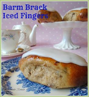 Barm Brack Iced Fingers