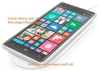 Fitur Baru iOS 11 dengan Wireless Charging dan Qi Technology