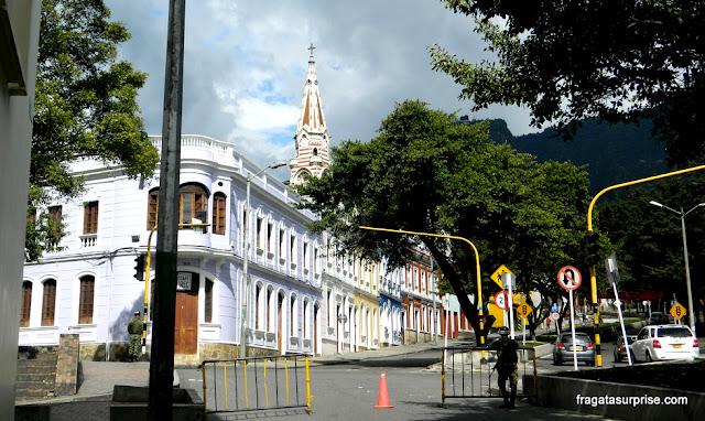 Rua de La Candelaria, Centro Histórico de Bogotá
