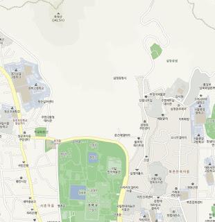 Cheong Wa Dae no existe en el mapa de Naver