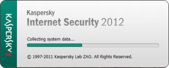 menjalankan software kaspersky antivirus