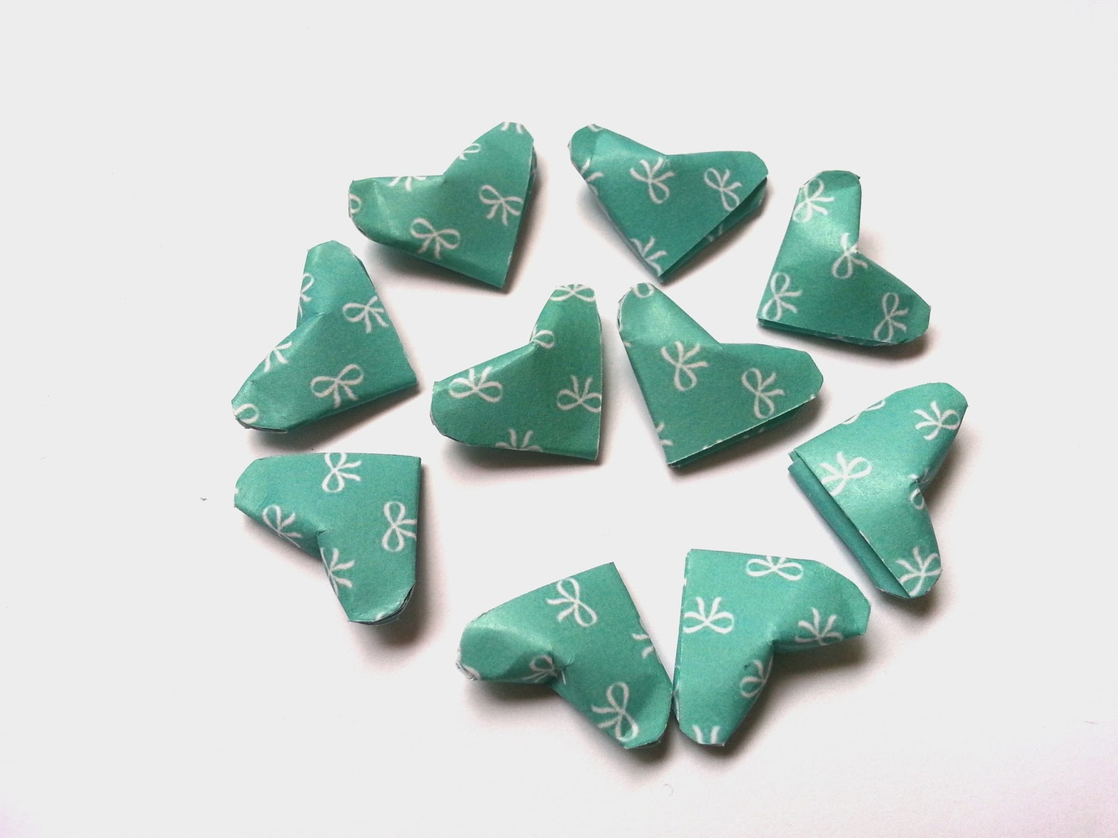 3D Origami Lucky Hearts | Bag n Craft - photo#7