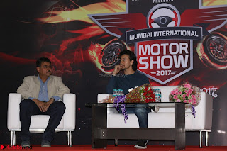 Tiger Shroff Launches Mumbai International Motor Show 2017 028.JPG