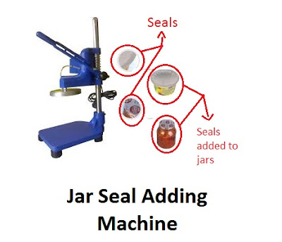 Jar Sealing aluminium Foil Machine